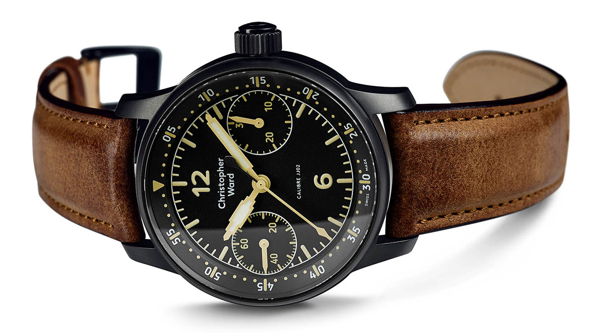 Christopher Ward C9 Me 109 Single Pusher Chronograph