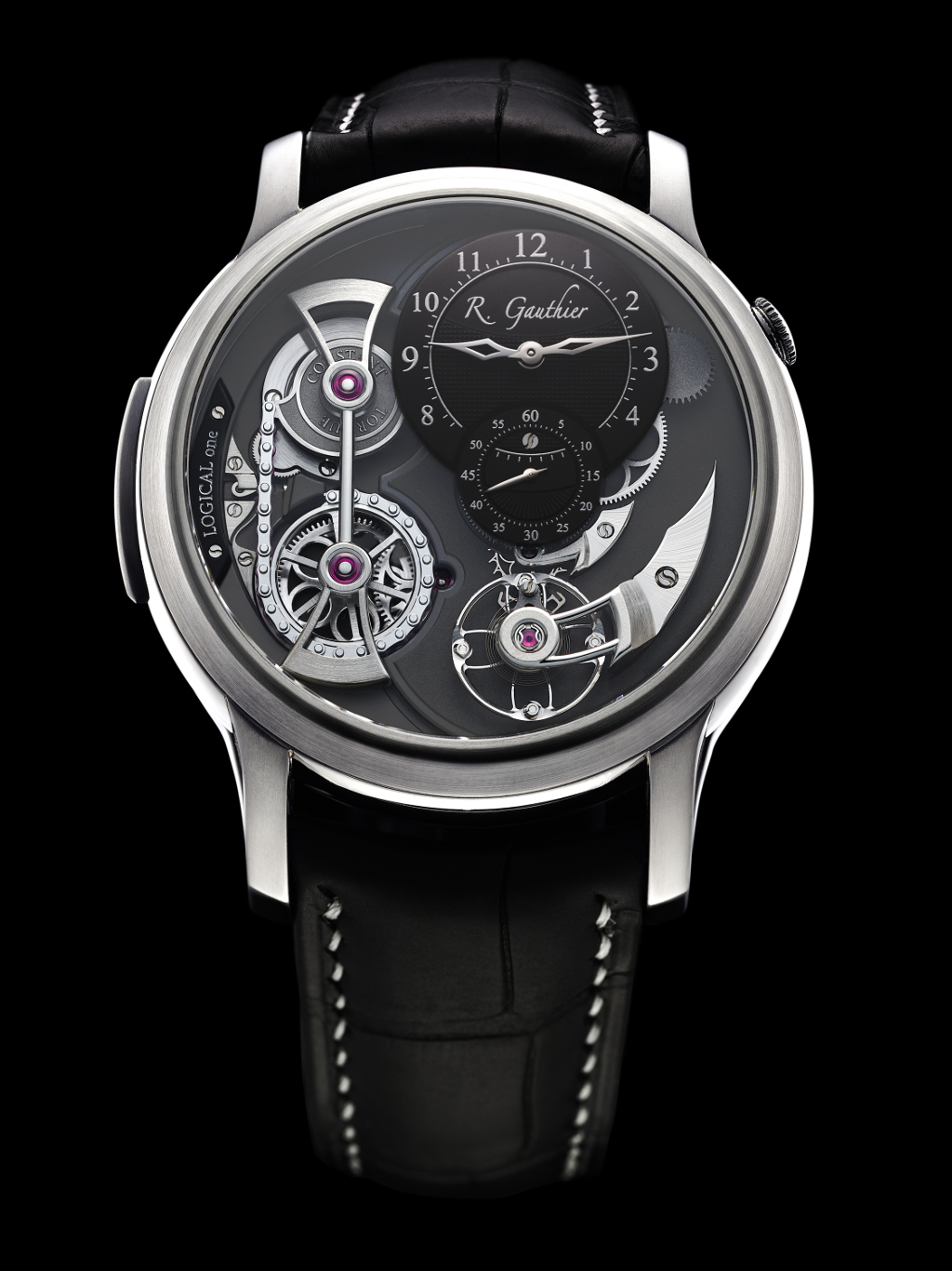 Romain_Gauthier_Logical_One_natural_titanium_clous_de_Paris_dial-1.jpg