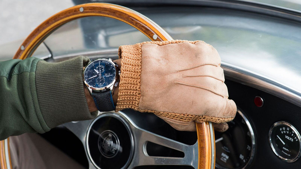 Baume & Mercier Clifton Club Shelby Cobra Bucherer Blue Editions