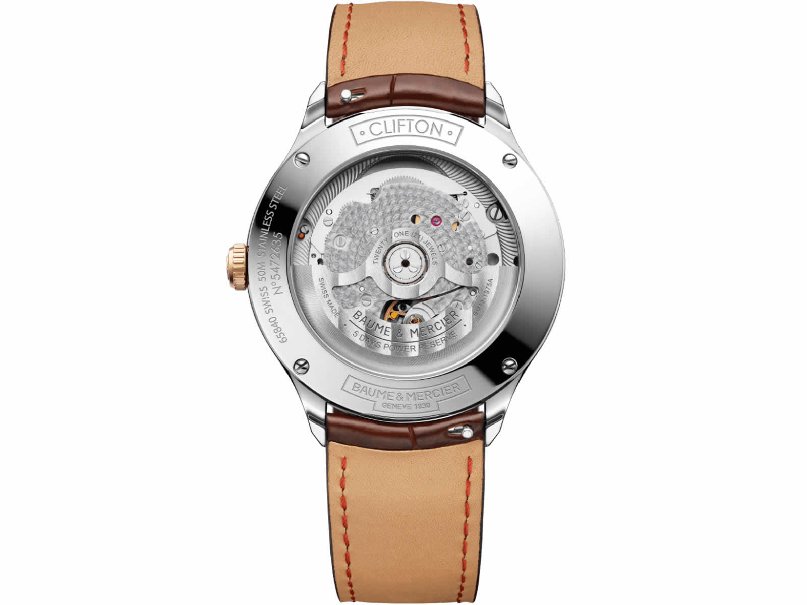 10401-Baume-Mercier-Clifton-Baumatic-Collection-Sihh2018-Brown-Back.jpg