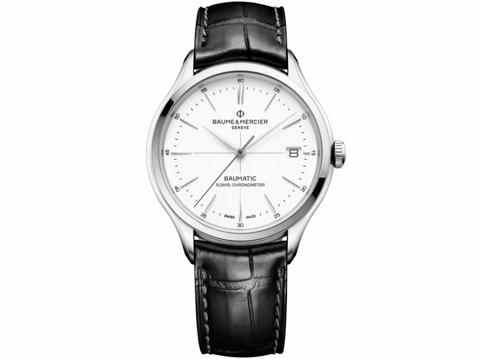 10436-Baume-Mercier-Clifton-Baumatic-Collection-Sihh2018-Black-White-Dial-Front.jpg