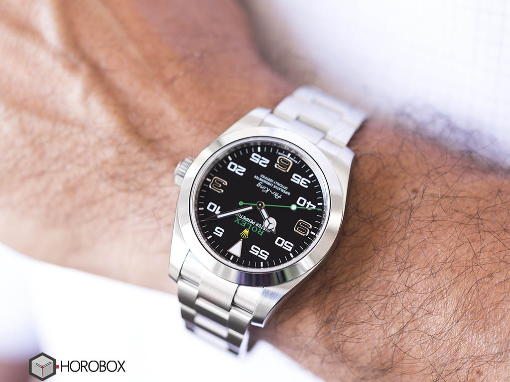 116900 air king daytona rolex baselworld 2016 review horobox for Rolex air king