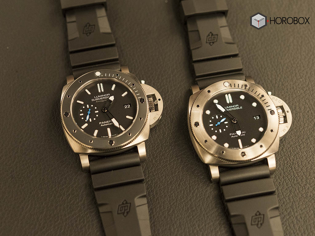 Panerai 2017 Novelties Pam00692 Pam01305 Submersible