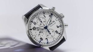 IWC Schaffhausen Pilot's Watch Chronograph Edition 150 Years