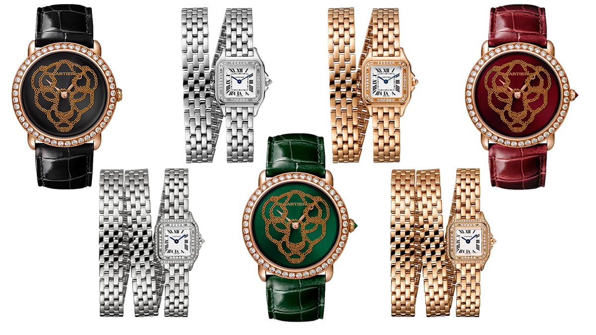 544cc44af6 Cartier Panthere Collection