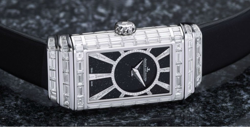 176552fbb83 New Model  Jaeger LeCoultre Reverso One High Jewelry Duetto