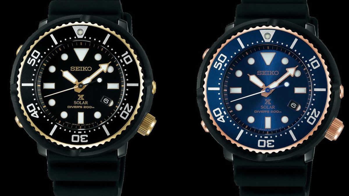 Seiko   Prospex   Solar Diver   Scuba   Limited Edition   Horobox