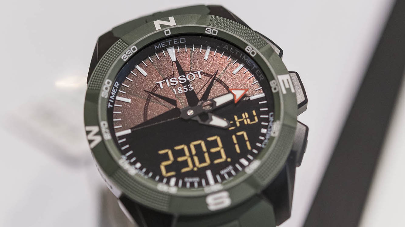 Tissot T Touch Expert Solar Ii Military Amp Navy