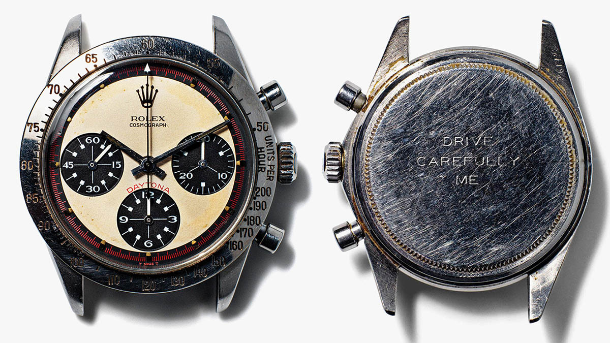 Paul Newman Rolex Daytona Ref 6239 Phillips Auction
