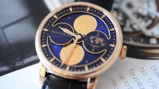 Arnold & Son HM Double Hemisphere Perpetual Moon Ref. 1GLAR.U03A.C122A - Video Review