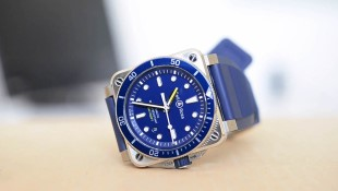 Bell & Ross BR 03-92 DIVER BLUE Video Review