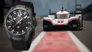 Porsche 919 Spyder Evo Hybrid, Which Was Racing Under The Sponsorship of Chopard, Broke The New Nurburgring Nordschleife Record!