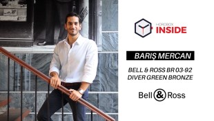 Barış Mercan and Bell & Ross BR 03-92 Diver Bronze Green Experience