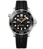 "Seamaster Diver 300M Omega Co-Axial Master Chronometer 42 mm ""James Bond"" Limited Edition Set"
