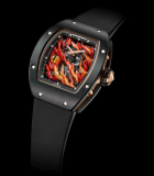 RM 026-02 Tourbillon Evil Eye Red Gold and TZP Black Ceramic