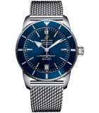 Superocean Heritage II B20 Automatic 42 Stainless Steel-Gun Blue