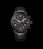 Hommage 1910 Chrono Quartz Black PVD Steel