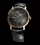 Classima Red  Gold Dual Time-Zone and Power Reserve