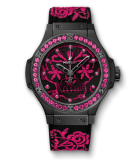 Big Bang Broderie Sugar Skull Fluo Hot Pink