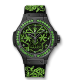 Big Bang Broderie Sugar Skull Fluo Malachik Green
