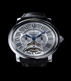 Rotonde de  Cartier single push-piece tourbillon chronograph
