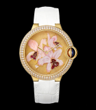 Ballon Bleu de  Cartier Orchid Granulation and Engraved Mother-of-Pearl Motif
