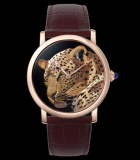 Rotonde de  Cartier 42mm damascened panther motif