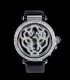Pasha de Cartier 42mm Skeleton with panther decor