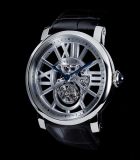 Rotonde de Cartier skeleton flying tourbillon
