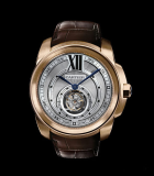Calibre de  Cartier flying tourbillon