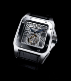 Santos 100 flying tourbillon