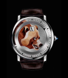 Rotonde de  Cartier 42mm Jumping Hours bear motif