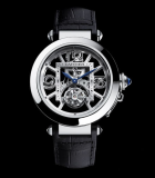 Pasha de Cartier  skeleton flying tourbillon