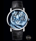Rotonde de  Cartier 42 mm tiger motif