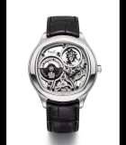 Emperador Cushion Ultra-Thin Tourbillon Automatic Skeleton White Gold