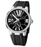 Executive Dual Time Diamond 243-00b-3/42