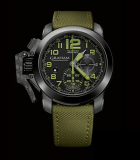 Chronofighter  Oversize Amazonia Green