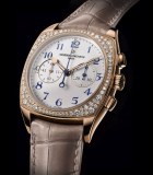 Harmony Calibre 1142 Chronograph Small Seconds Diamonds Pink Gold
