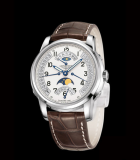 The Longines  Saint-Imier Retrograde Moon Phases