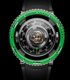 HM7 Aquapod Green Bezel