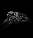 Horological Machine N3 MegaWind Final Edition Black PVD White Gold and Black PVD Titanium