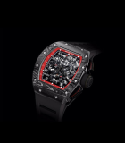 RM 011 Flyback Chronograph Black Night TZP Black Ceramic and NTPT Carbon