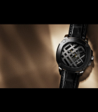 The Britain 45mm Icon Check Limited Edition Anthracite DLC Titanium