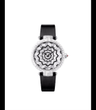 Premier Hypnotic Star Automatic 36mm Pave White Gold