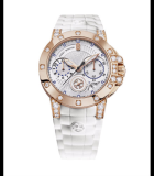 Ocean Lady Chronograph Automatic 36mm Diamonds Rose Gold