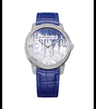 Midnight Diamond Stalactites Automatic 36mm Diamonds White Gold