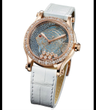 Happy Fish 36mm Automatic Diamonds Rose Gold