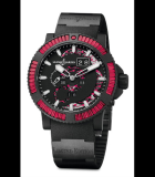 Marine Perpetual Red Sapphires Steel with Vulcanized Black Rubber