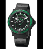Marine Perpetual GreenSapphires Steel with Vulcanized Black Rubber