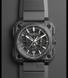 BR-X1 Skeleton Chronograph Forged Carbon and Ceramic